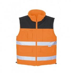 Bodywarmer 0344A/5100 5100-orange XXXXL