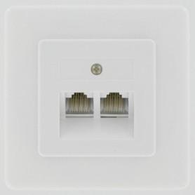 STOPCONTACT INB ADSL 2V 8-PLG GESCH KOPP