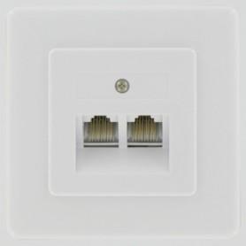 UTP STOPCONTACT OPB 2-VOUDIG ISDN/ADSL KOPP