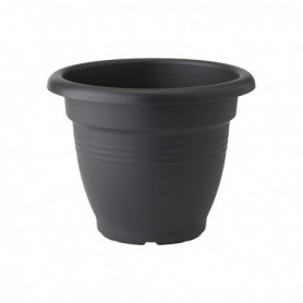 Bloempot Campana  Green Basics black D39H31 18L