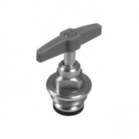 Bovendeel 3/4 V Stopkraan 22mm Plieger