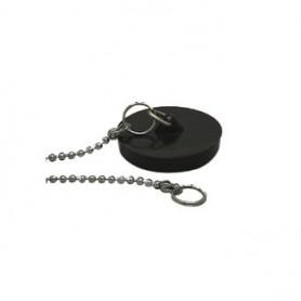 Gootsteen Plugstop zwart 38 mm