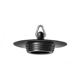 Plugstop Zwart Plieger  6/4 X45.5MM