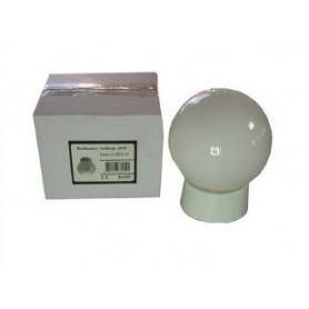 Glasballon Badkamer bolletje compleet Opaal 60W