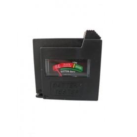 Batterijen tester geel AAA/AA/C/D/9V+KN