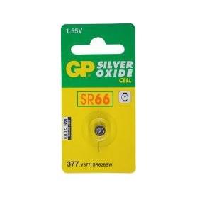 Batterijen knoopcel zilver 377 1,55 v SR66