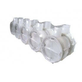 Inbouwdoos transparant 40 mm per stuk