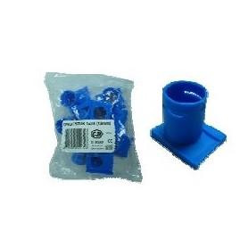 inbouwdoos BUISINVOERSTUK Invoertule enkel blauw 3/4 19 mm