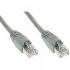 Kabel UTP Compleet CAT5  Patch kabel RJ45 grijs 10 meter