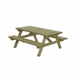 Picknicktafel 160 x 180 cm