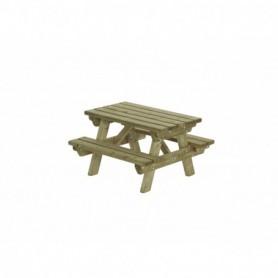 Picknicktafel Kinder 90 x  90  cm