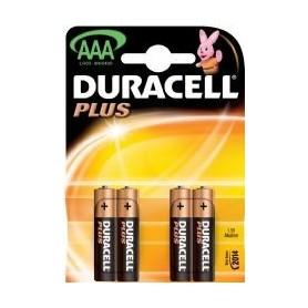Batterijen Duracell AAA 4 stuks