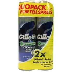 Scheerschuim Sense Gillette 250 ml