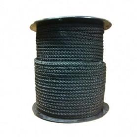 Touw Nylon Zwart 8 mm per meter