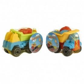 Zandbakspeelgoed truck 4 delig