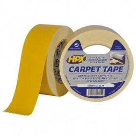 Dubbelzijdig tapijttape -WIT- 50mm x 25m.