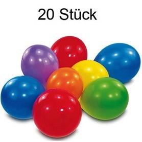 Ballonnen 15-18 cm Diverse kleuren