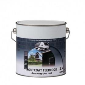 Beits Houtcoat Teerlook Zwart Mat 2,5 Ltr