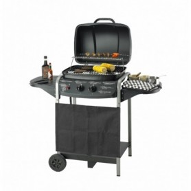 BBQ Barbecue op gas 2 pit 112x44x77