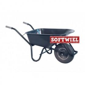 Kruiwagen HUMMER SW 85L. staal rondneus