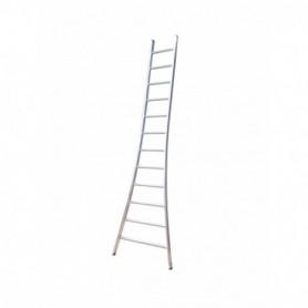 Ladder Enkele Maxall uitgebogen 8 sporten