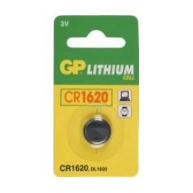 Batterijen knoopcel GP CR1620 3VOLT