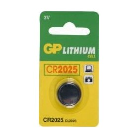Batterijen knoopcel GP CR2025 3VOLT