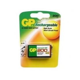 Batterijen GP Oplaadbaar  9V (block)