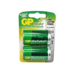Batterijen Oplaadbaar GP D 2 stuks