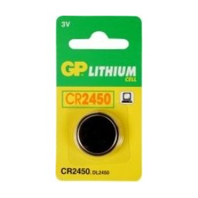 Batterijen knoopcel GP CR2450 3VOLT