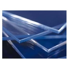 Kunststofglas 100x200 opaalwit 3 mm