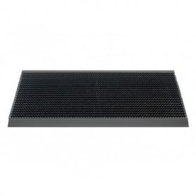 Mat Outline 107 pure Black 50x80