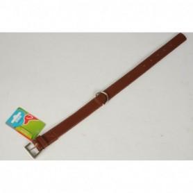 Hondenhalsband 2,5x50cm bruin
