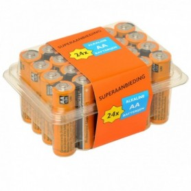 Batterijen Duracell Ind AA 24 stuks