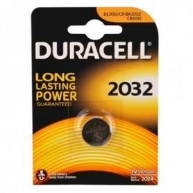 Batterijen Duracell knoopcel lithium DI2032 BLS A 2 stuks