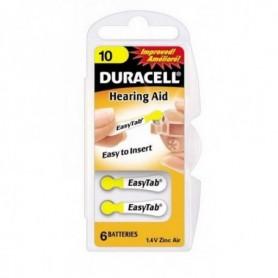 Batterijen Durac DA10 easytab 1,4V zinc air bl/6