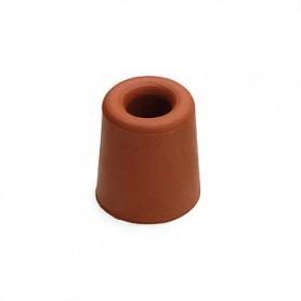 Deurbuffer rubber Bruin D37xH48 mm