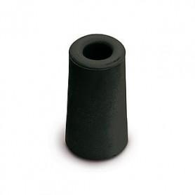 Deurbuffer rubber Zwart D30xH24