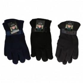 Handschoen winter  fleece 4ass