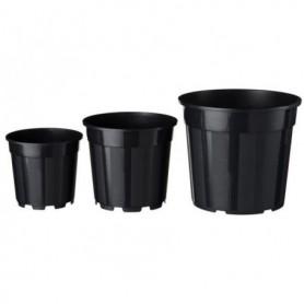 Plantcontainer Zwart 21 CM 2 stuks