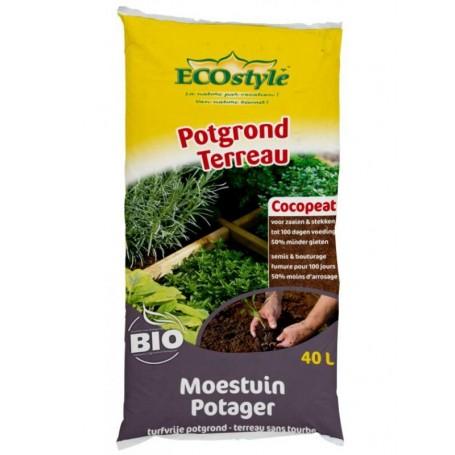 Ecostyle cocopeat Moestuin 40 liter