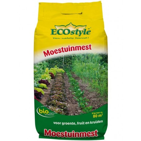 Ecostyle Moestuin Moestuinmest 8 kg