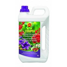 Compo Vloeibaar Geraniummest 5 liter