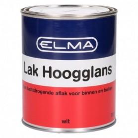Verf Elma Hoogglans Wit 750 ML