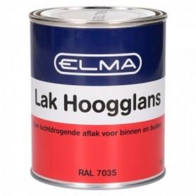 Verf Elma Hoogglans 7035 Licht Grijs 750 ML