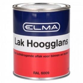 Verf Elma Hoogglans 6009 Donker Groen 750 ML