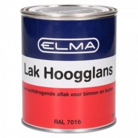 Verf Elma Hoogglans 7016 Antraciet 750 ML