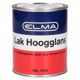 Verf Elma Hoogglans 7040 Venster Grijs 750 ML