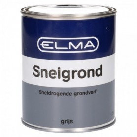 Verf Elma Grondverf Snelgrond Grijs 750 ml