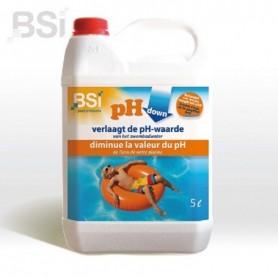 Zwembad pH-Down Liquid 5 L
